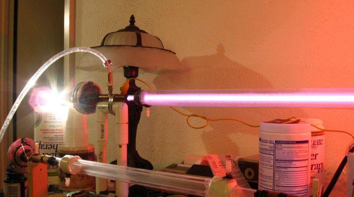Jarrod's Laser World: First CO2 Laser